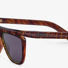FENDI FFLUO - Sonnenbrille in Braun - view 3 thumbnail