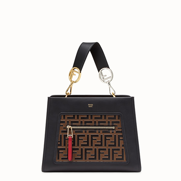 FENDI RUNAWAY SMALL - Sac en cuir multicolore - view 1 small thumbnail