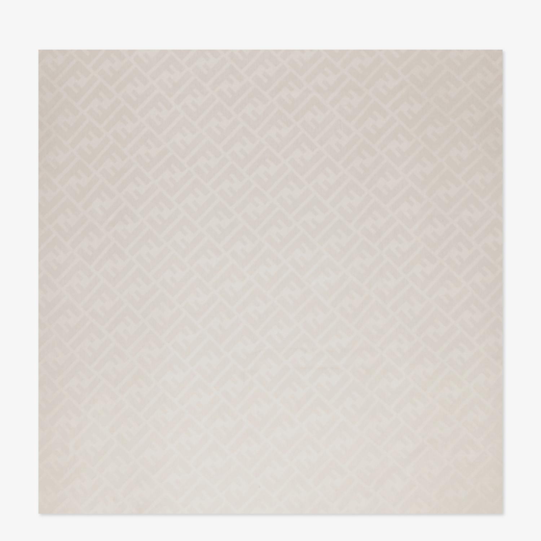 FENDI STOLA - Stola aus beigefarbener Seide - view 1 detail