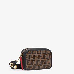 FENDI CAMERA CASE - Multicolour leather bag - view 2 thumbnail