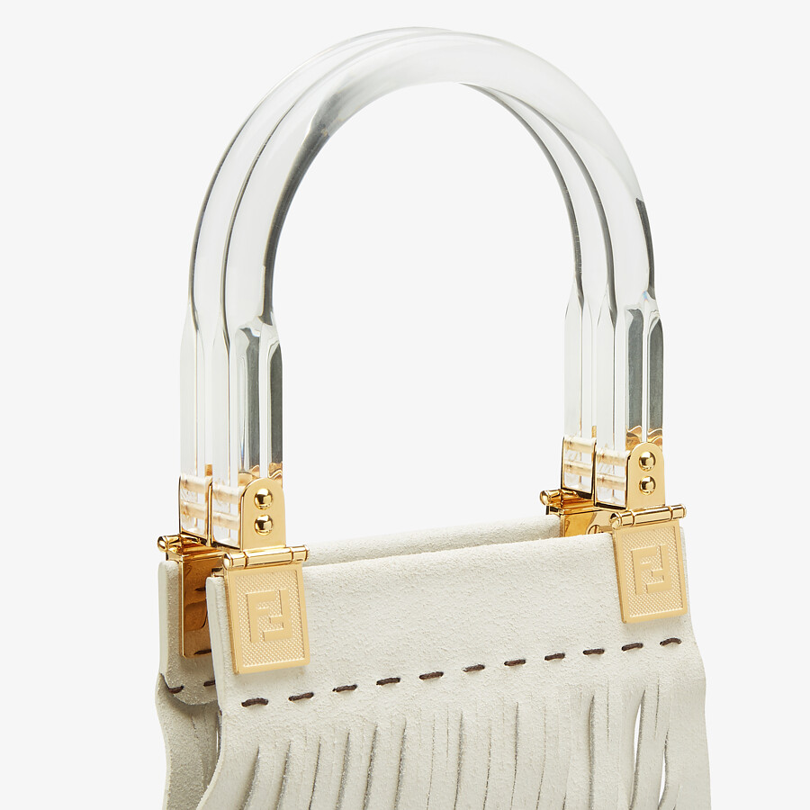 FENDI FENDI SUNNY - Two-toned patent leather shopper - view 6 detail