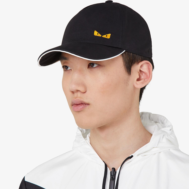 FENDI HAT - Baseball cap in black cotton - view 3 detail