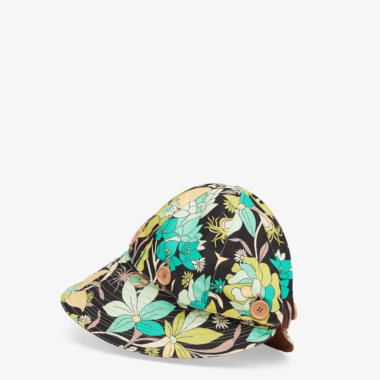 FENDI HAT - Multicolor cotton hat - view 1 detail
