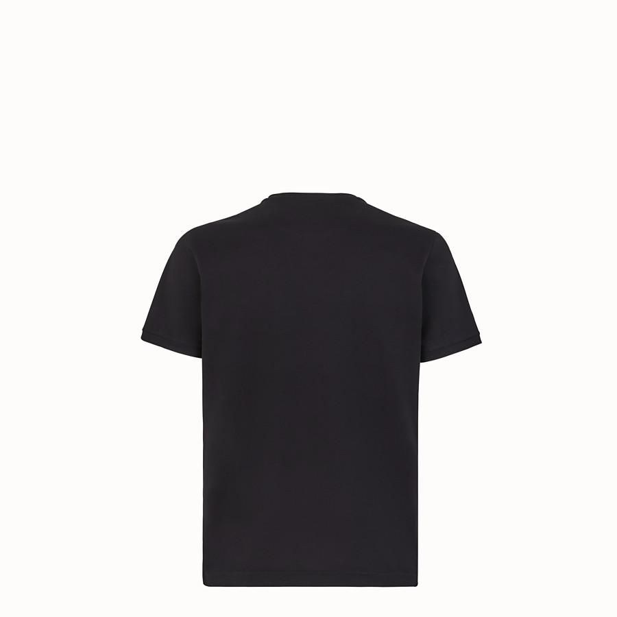 FENDI Tシャツ - ブラックジャージー Tシャツ - view 2 detail
