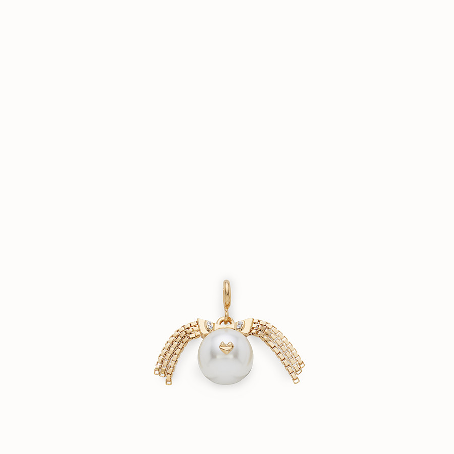 FENDI VIRGO PENDANT - Pendant with pearl - view 1 detail