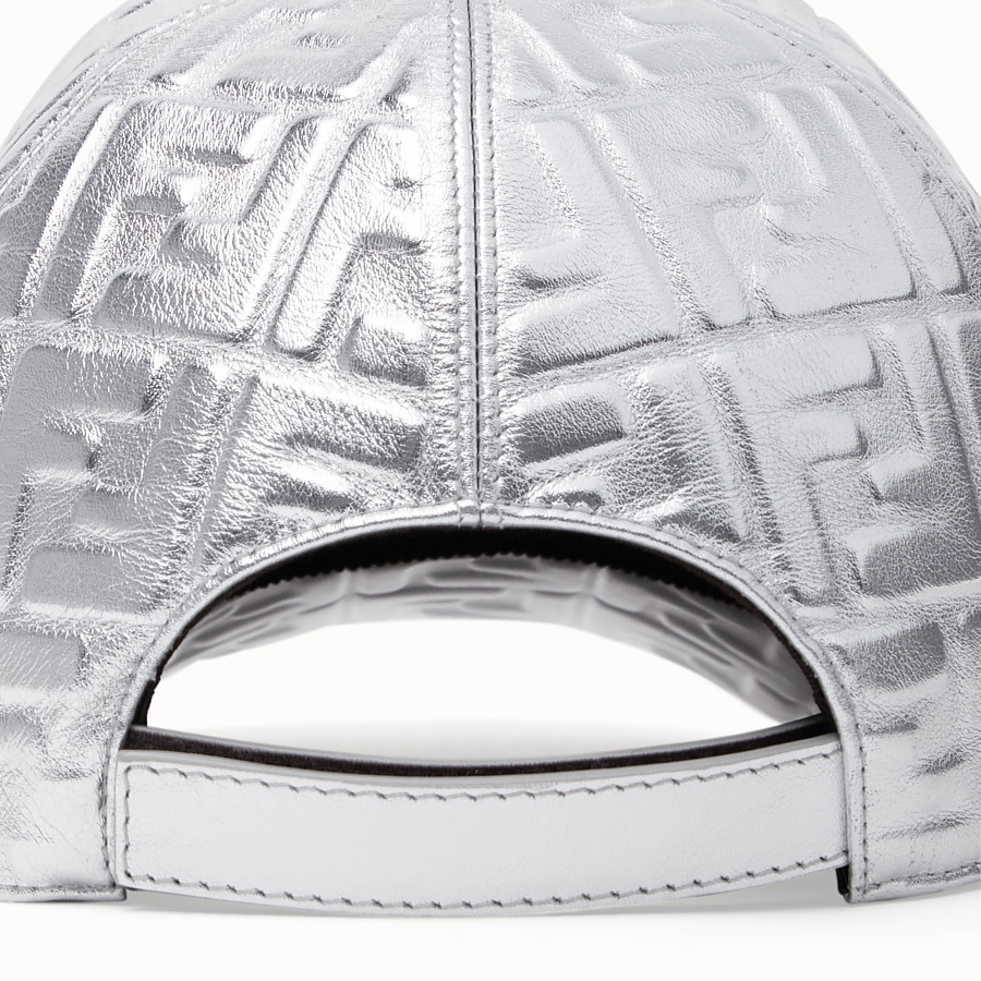 FENDI BASEBALL CAP - Fendi Prints On leather baseball cap - view 2 detail