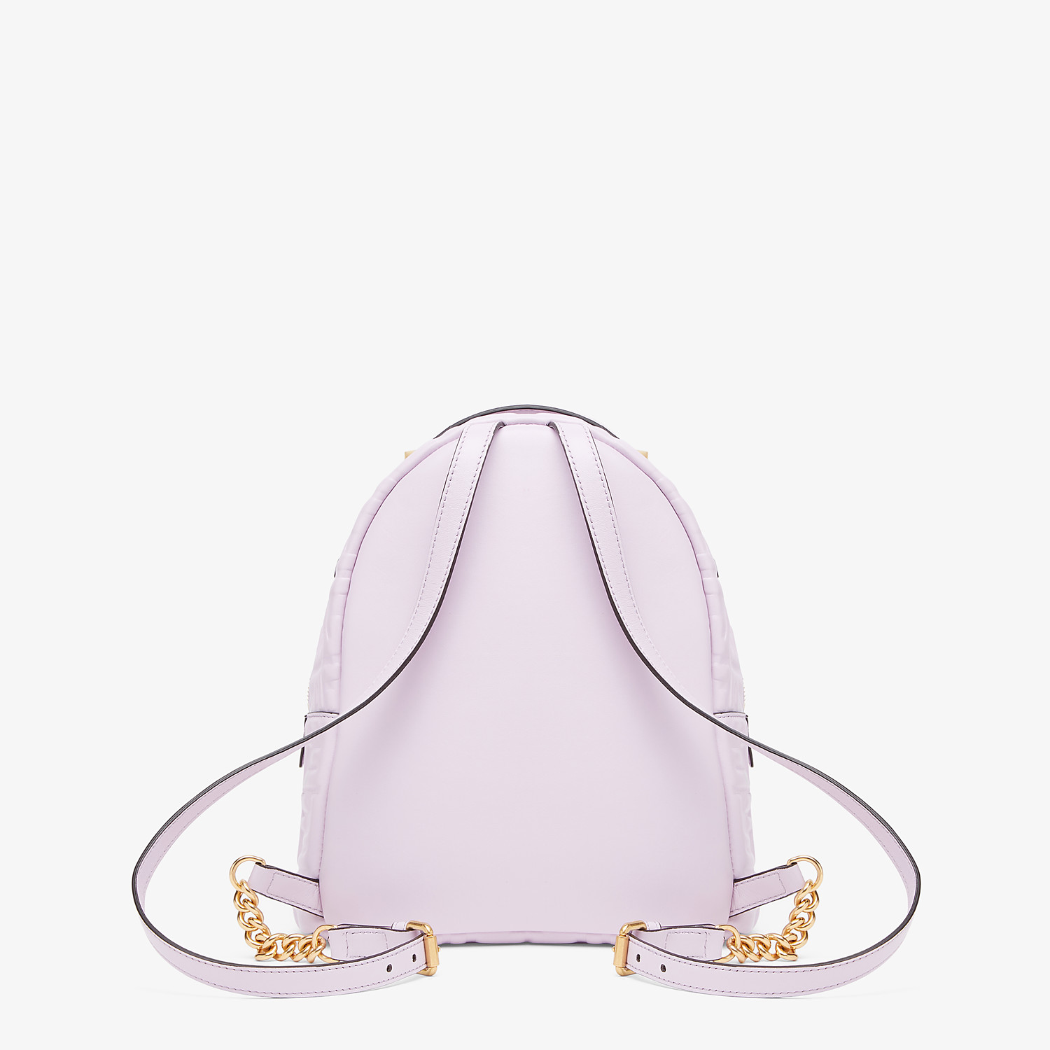 FENDI MINI BACKPACK - Lilac leather FF backpack - view 4 detail