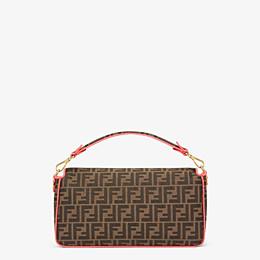 FENDI BAGUETTE LARGE - Fendi Roma Amor fabric bag - view 3 thumbnail
