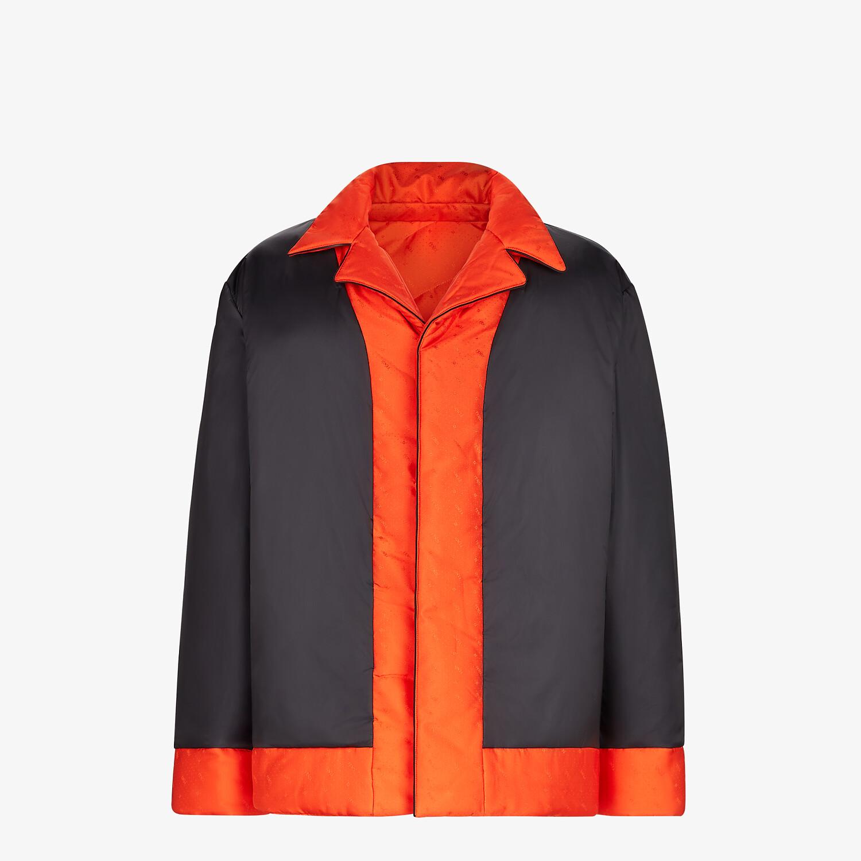 FENDI JACKET - Red silk jacket - view 4 detail