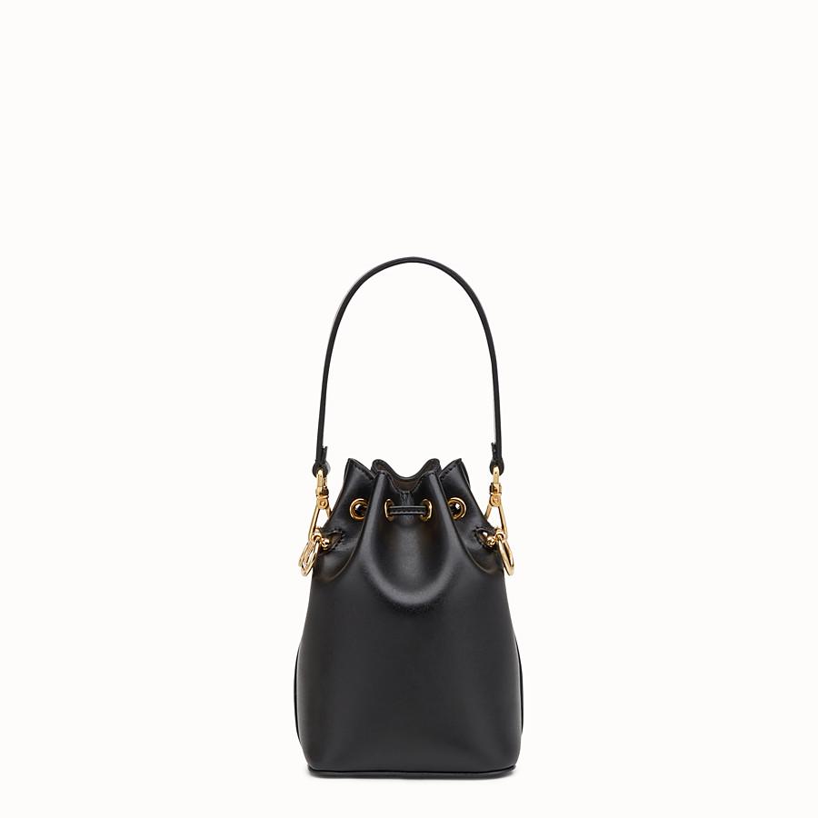 968e29b5cb0e Black leather mini-bag - MON TRESOR