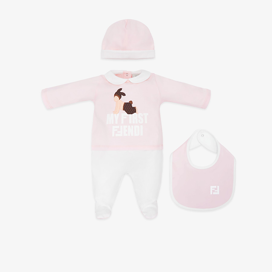 FENDI BABY KIT - Printed jersey Baby Kit - view 1 detail