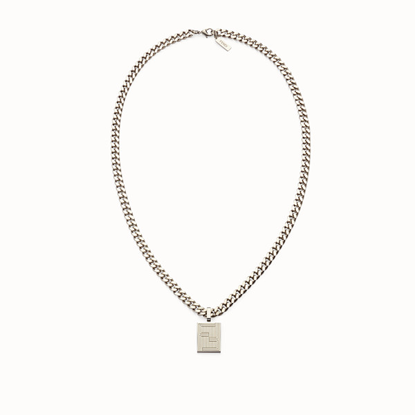 FENDI NECKLACE - Chain necklace with charm - view 1 small thumbnail