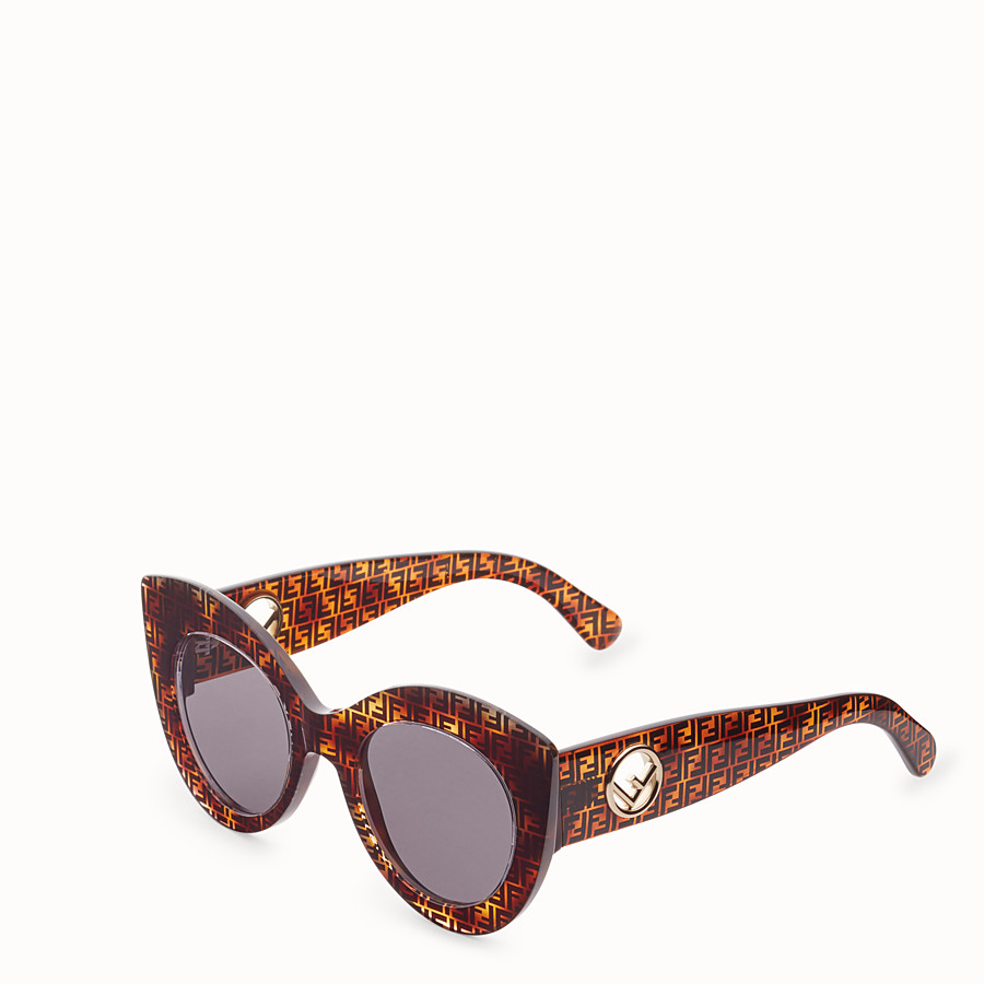 FENDI F IS FENDI - Havana FF sunglasses - view 2 detail