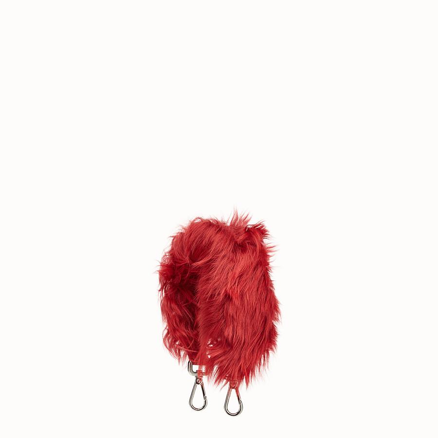 FENDI MINI STRAP YOU - Alpaca shoulder strap - view 1 detail