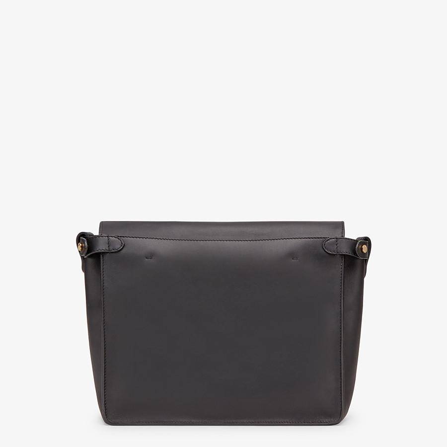 FENDI FENDI FLIP LARGE - Multicolour leather and suede bag - view 5 detail