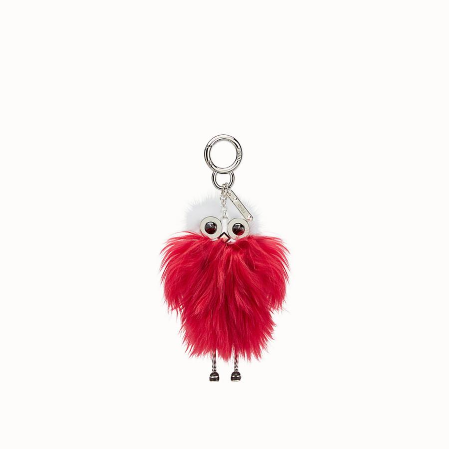 FENDI TEEN WITCHES CHARM - Raspberry red alpaca charm - view 2 detail