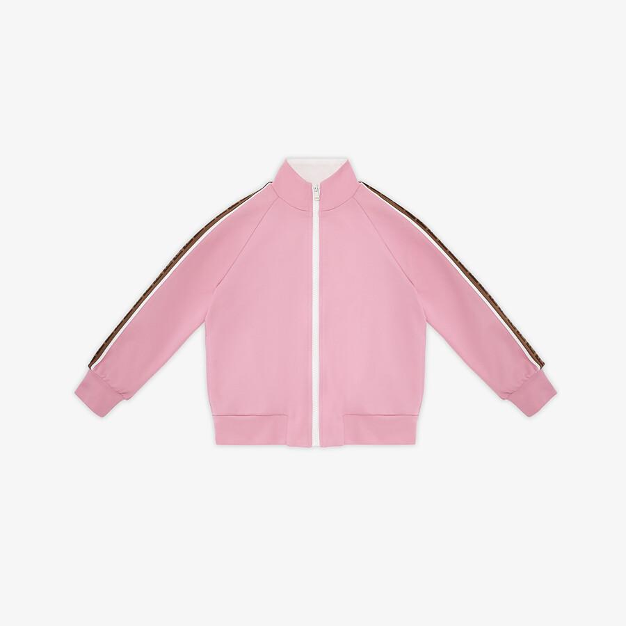 FENDI JUNIOR SWEATSHIRT - Tech fabric junior sweatshirt - view 1 detail