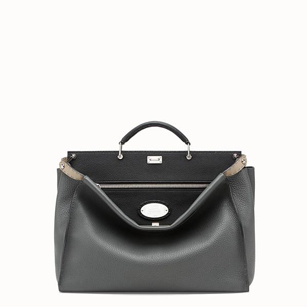 FENDI PEEKABOO - Black leather bag - view 1 small thumbnail