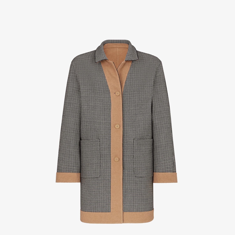 FENDI COAT - Beige wool coat - view 4 detail