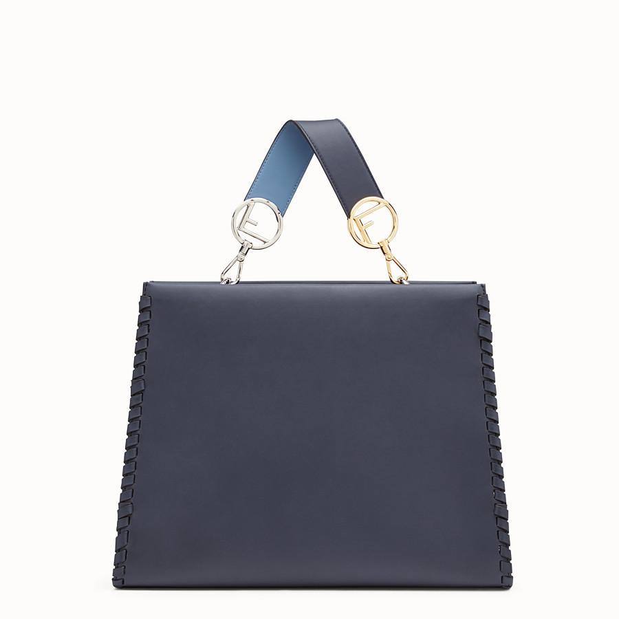 FENDI 레귤러 런어웨이 - 블루 컬러의 가죽 백 - view 3 detail