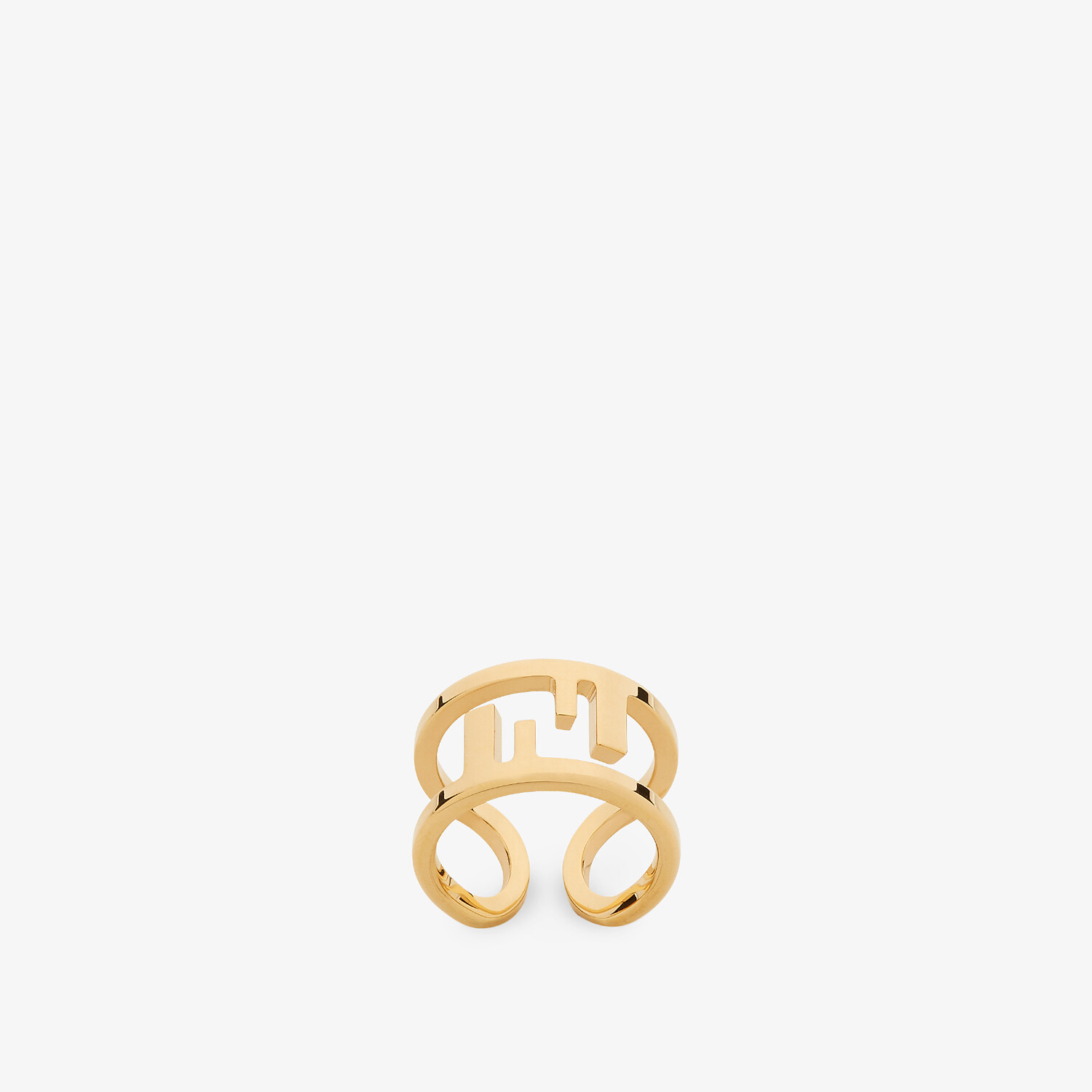 FENDI O'LOCK RING - Gold-colored ring - view 1 detail