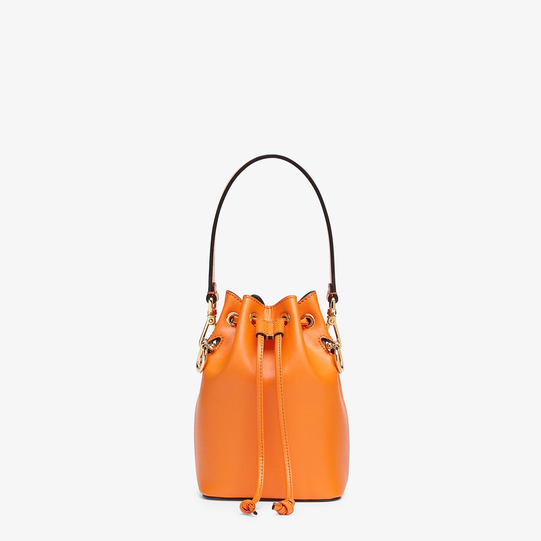 FENDI MON TRESOR - Orange leather mini-bag - view 1 detail