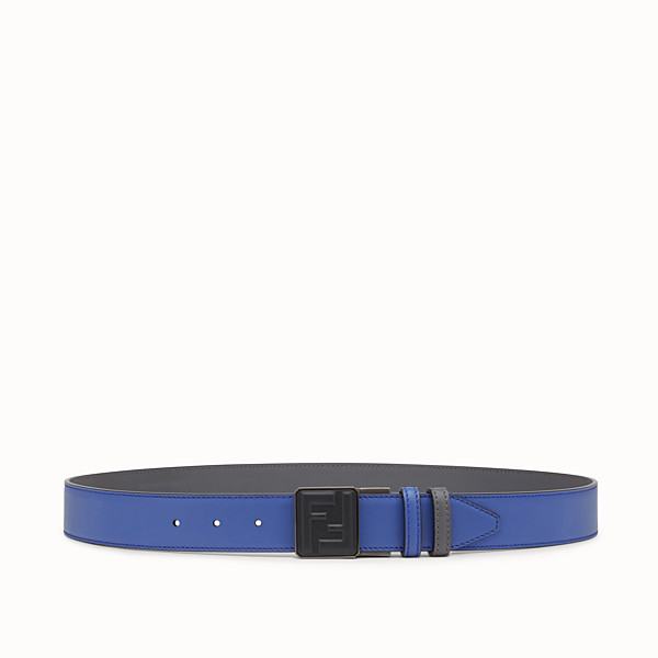 FENDI BELT - Blue and grey belt - view 1 small thumbnail