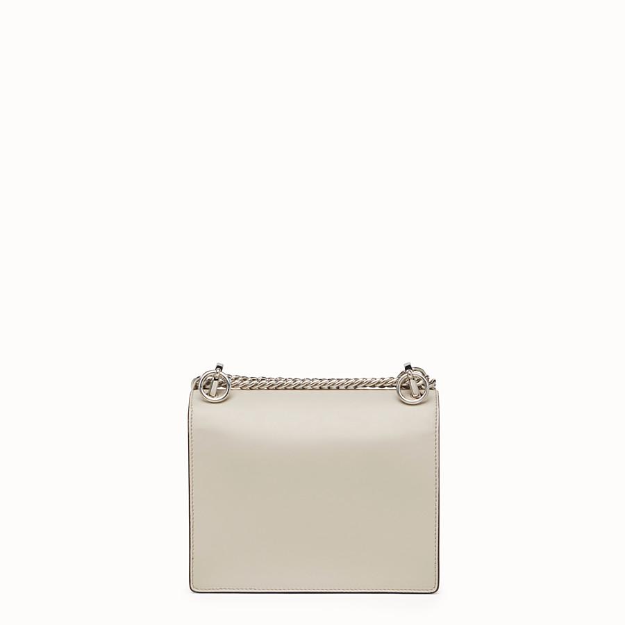 6bde1ad9bc47 Mini-bag in powder grey leather - KAN I SMALL