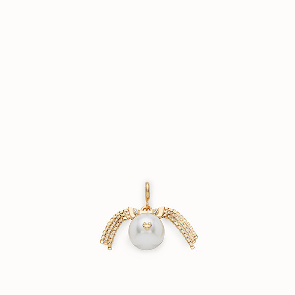 FENDI VIRGO PENDANT - Pendant with pearl - view 1 small thumbnail