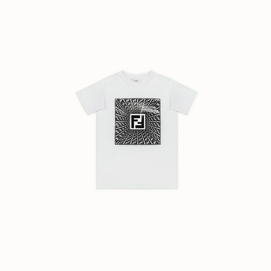 FENDI T-SHIRT - Fendi Prints On embossed T-shirt - view 1 detail
