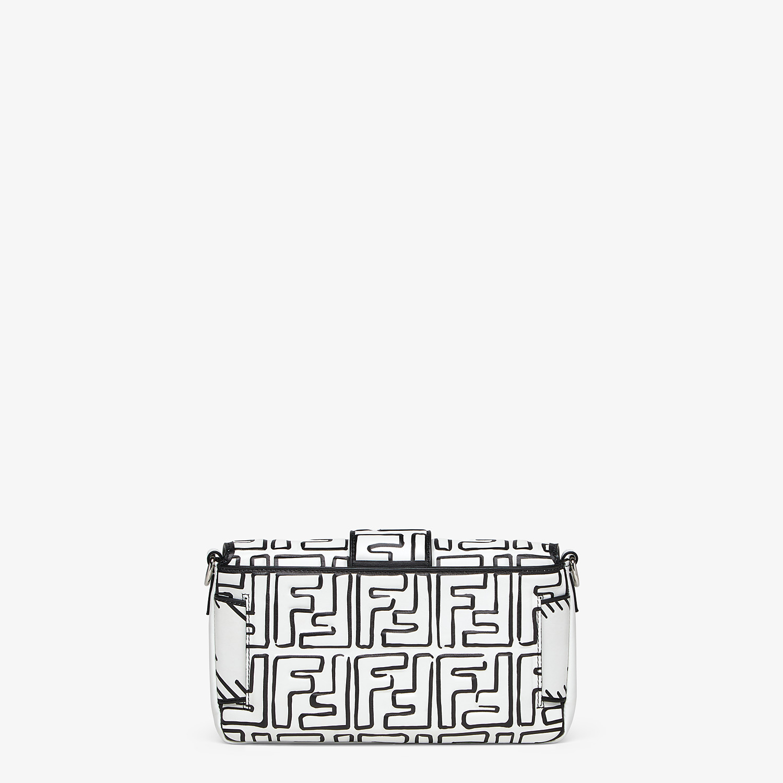 FENDI BAGUETTE - Fendi Roma Joshua Vides nappa leather bag - view 4 detail