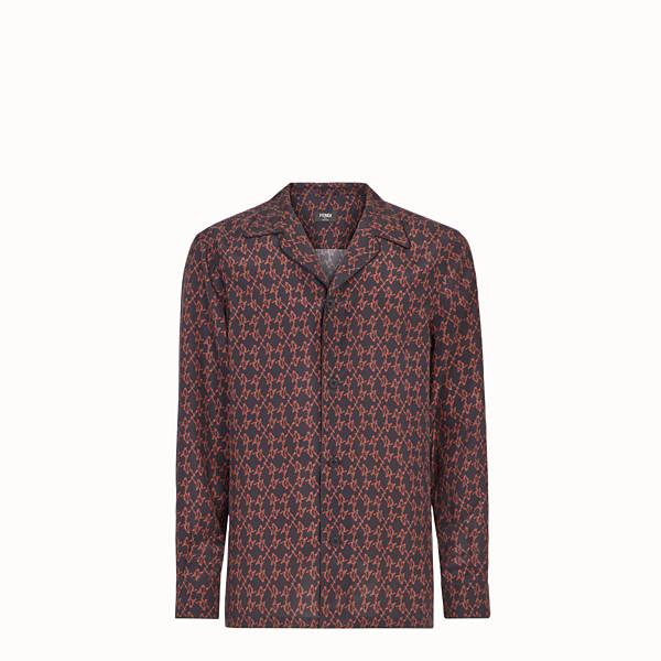 FENDI 恤衫 - 黑色真絲恤衫 - view 1 小型縮圖