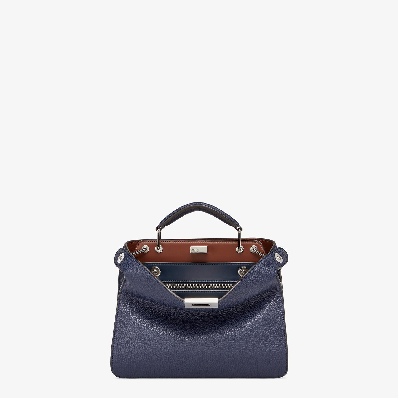FENDI PEEKABOO ISEEU MINI - Dark blue leather bag - view 1 detail