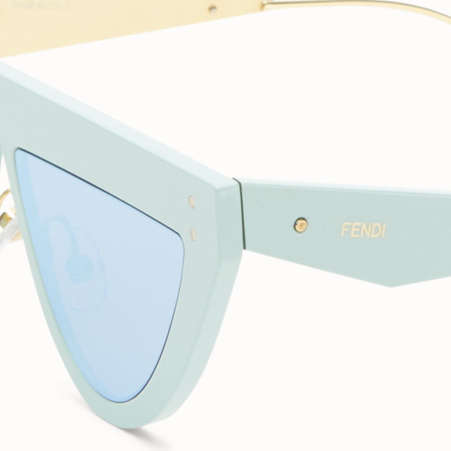 FENDI DEFENDER - Aquamarine sunglasses - view 3 detail