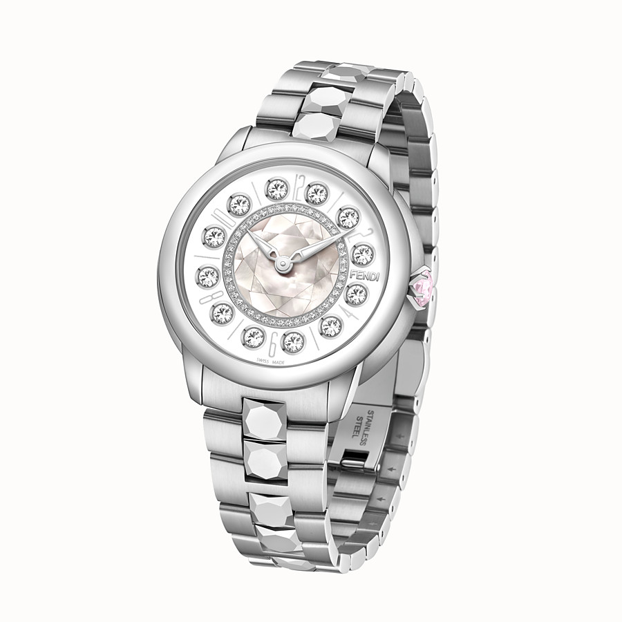 FENDI FENDI ISHINE - 38 mm - Watch with diamonds and rotating gemstones - view 2 detail