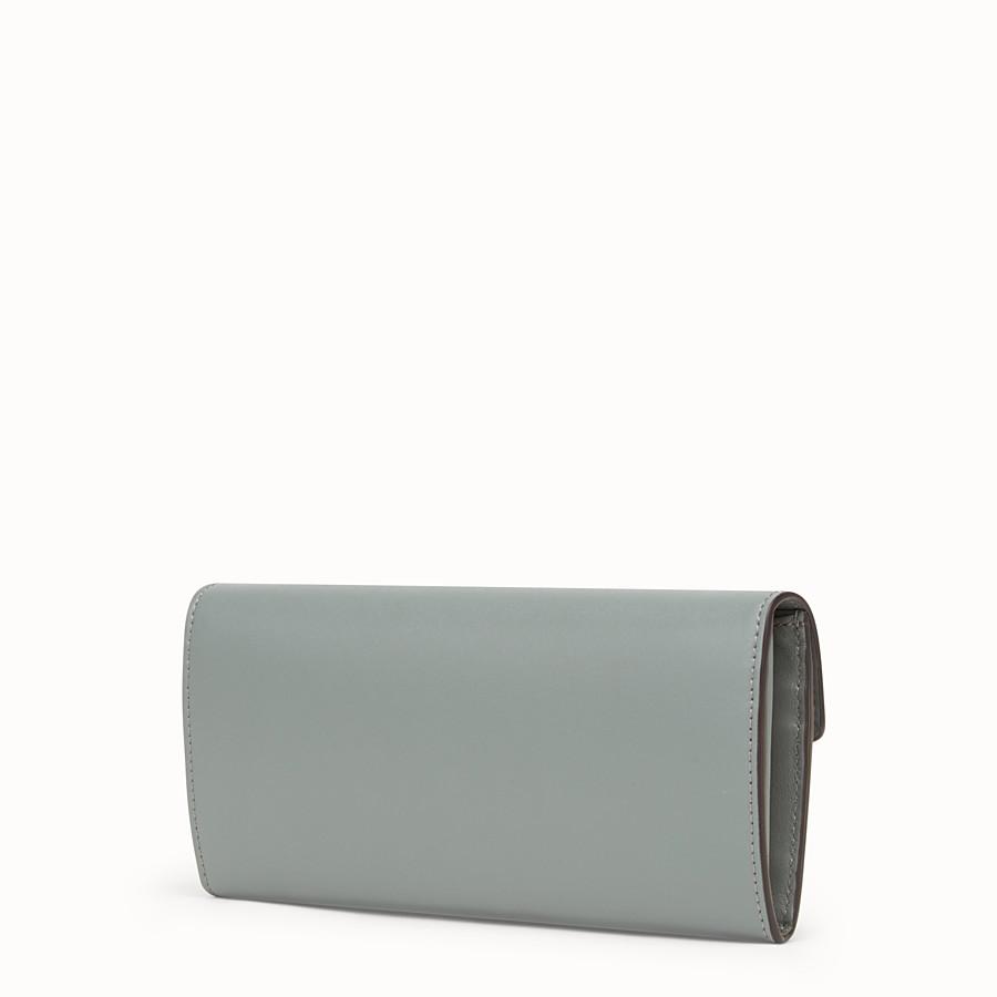 FENDI 장지갑 - 그린 컬러의 가죽 지갑 - view 2 detail