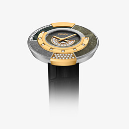 FENDI POLICROMIA - 38 mm - Watch with diamonds and genuine stones - view 3 thumbnail