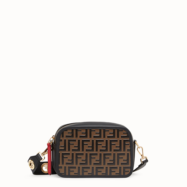FENDI CAMERA CASE - Multicolour leather bag - view 1 small thumbnail