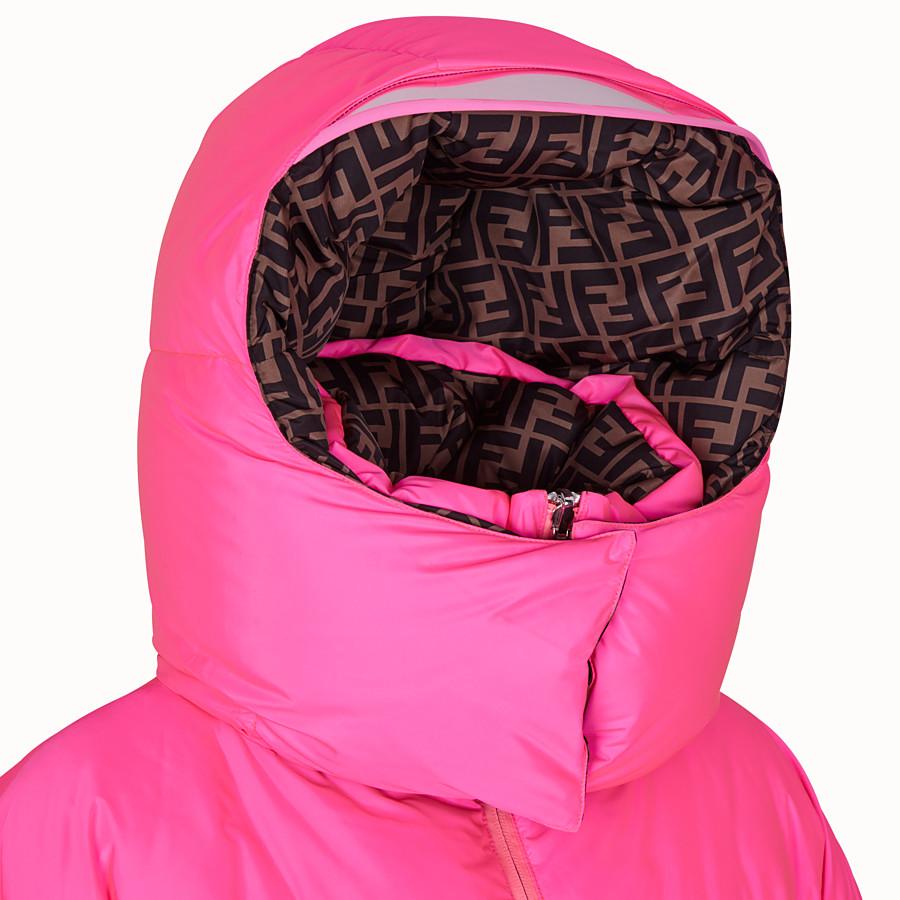 FENDI DOWN JACKET - Fendi Prints On padded down jacket - view 4 detail