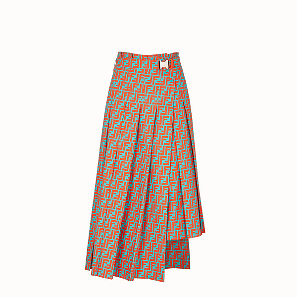 FENDI SKIRT - Multicolour cotton skirt - view 1 small thumbnail