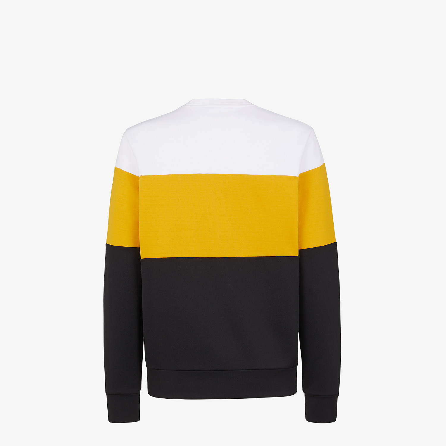 FENDI SWEATSHIRT - Multicolor cotton sweatshirt - view 2 detail