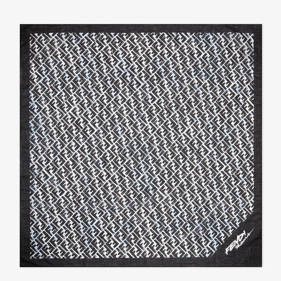 FENDI KEFFIYEH - Fendi Roma Joshua Vides silk scarf - view 1 detail