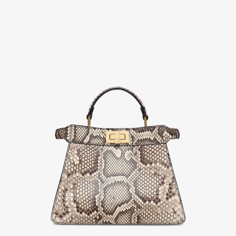 FENDI PEEKABOO ISEEU SMALL - Natural python leather bag - view 4 detail