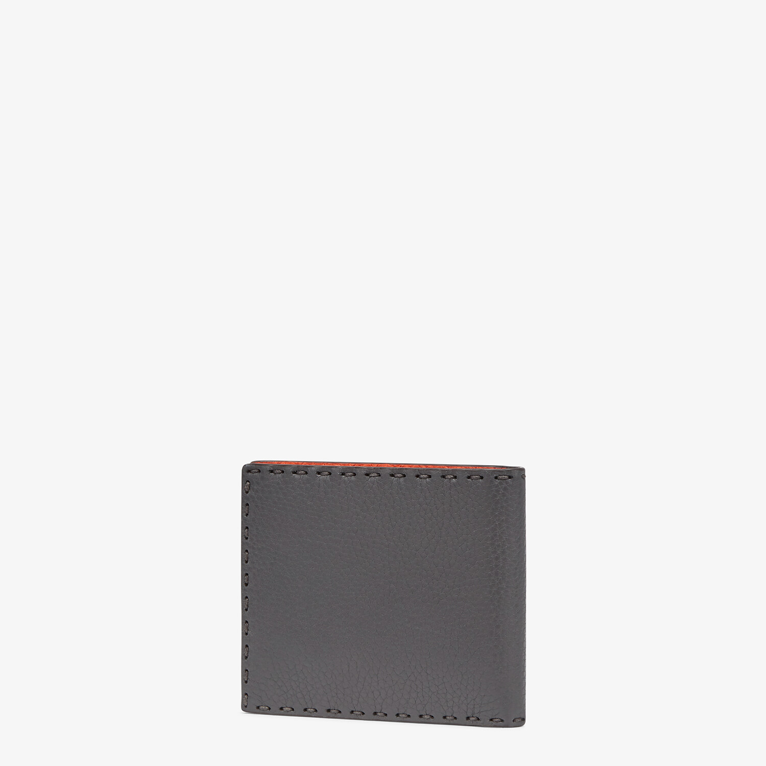 FENDI WALLET - Bi-fold wallet in gray leather - view 2 detail