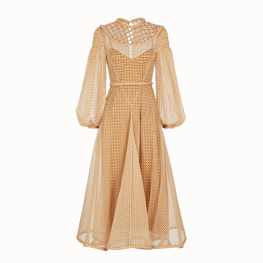 FENDI DRESS - Vichy organza dress - view 1 detail