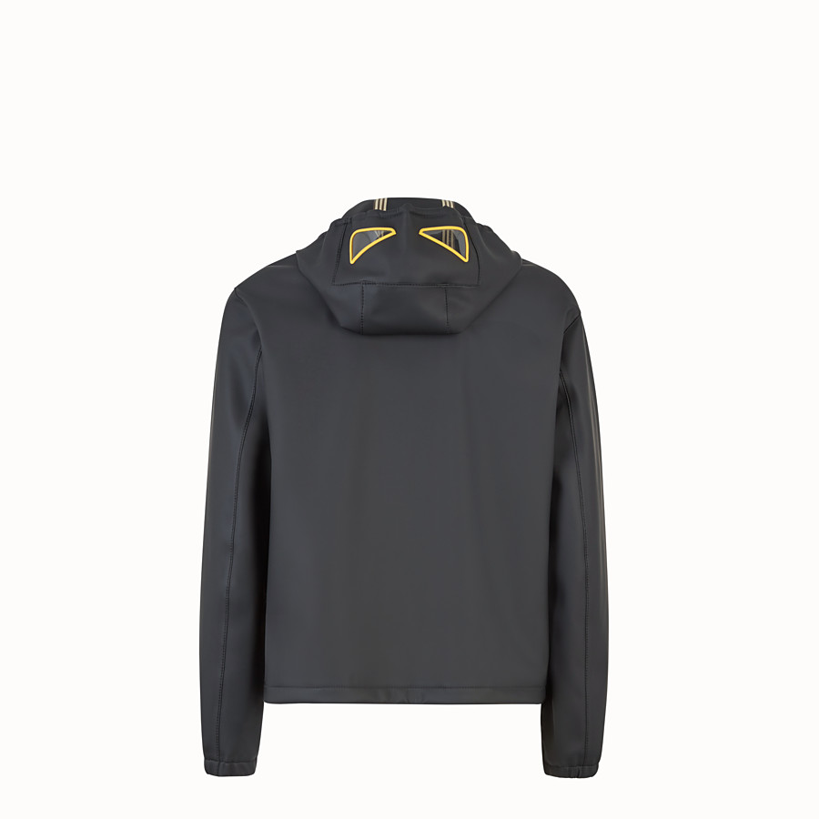 FENDI WINDBREAKER - Black fabric windbreaker - view 2 detail