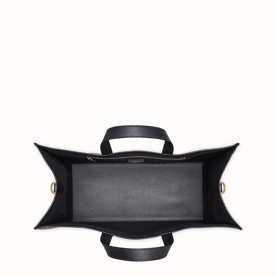 FENDI SHOPPER-TASCHE - Stofftasche in der Farbe Gold - view 4 detail