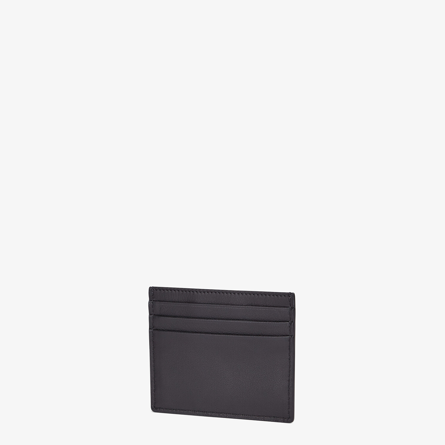 FENDI CARD HOLDER - Black nappa leather card holder - view 2 detail