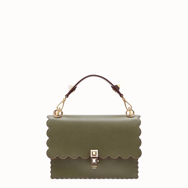 FENDI KAN I - Green leather bag - view 1 small thumbnail