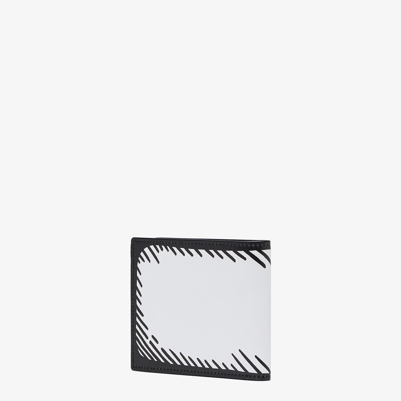 FENDI 財布 - FENDI ROMA ジョシュア・ヴィーダス レザー 二つ折り財布 - view 2 detail